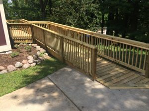 wooden wheel chair ramps wood wheelchair ramp