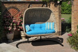 woven outdoor chair doublehanging x