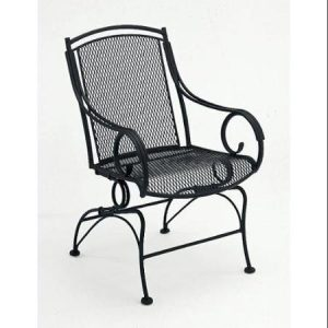 wrought iron rocker chair modesto wrought iron coil spring rocker mayan