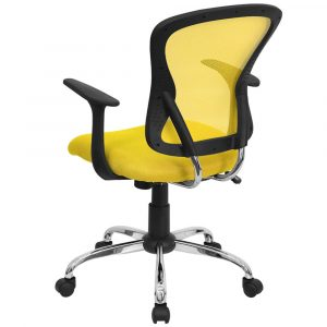 yellow office chair