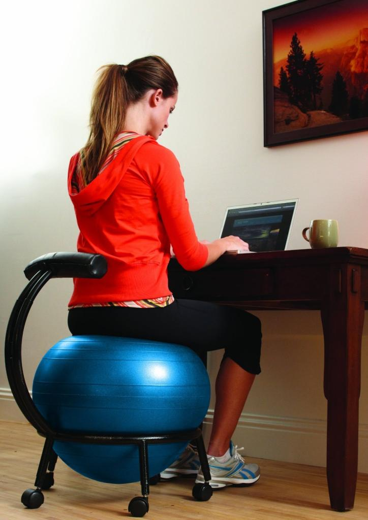 yoga ball office chair